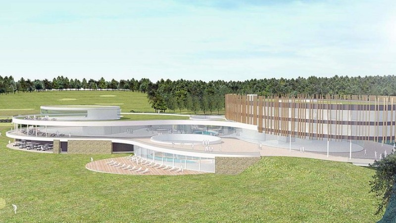 Design of the future Golf and Wellness infrastructure by A3 Architecture and Alinea ter architects